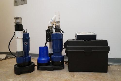 AquaStop Sump Pump Systems