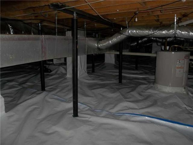 CleanSpace vapor barrier