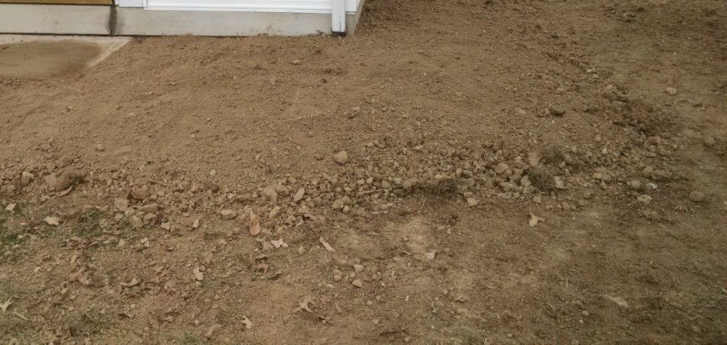 soil under and around foundations