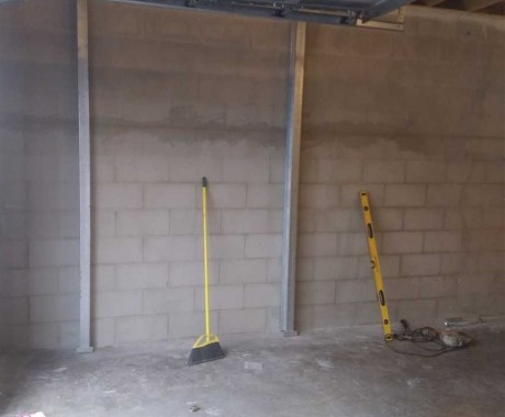 Fixing Bowing Walls with Wall Braces in Cleveland, TN
