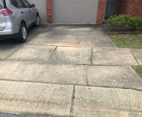 Repairing a Settling Foundation and Cracked Driveway in Hoover, AL