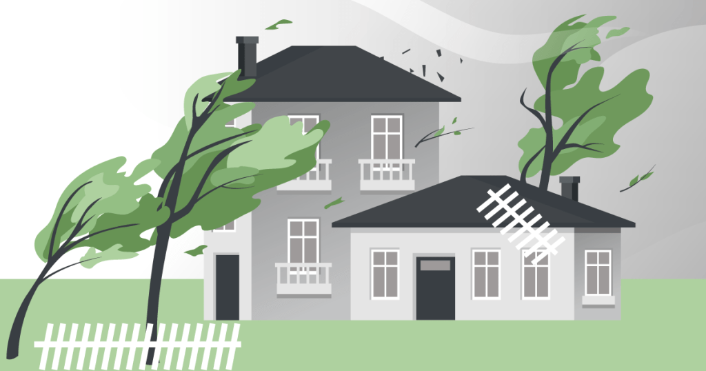 illustration how to prepare for windstorms
