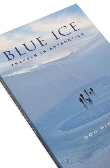 Cover detail of Blue Ice