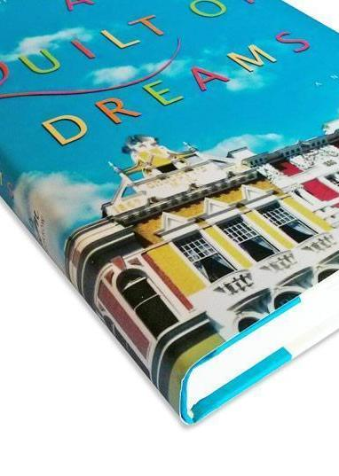 Cover detail of the novel, A Quilt of Dreams