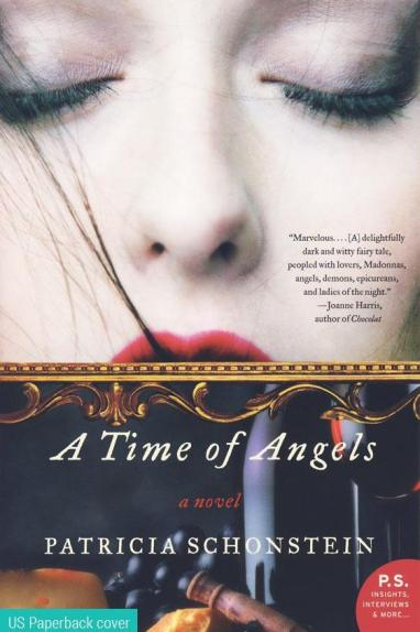 Front cover image of the novel, A Time of Angels