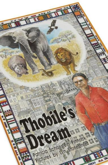 Cover detail of the childrens book, Thobile's Dream