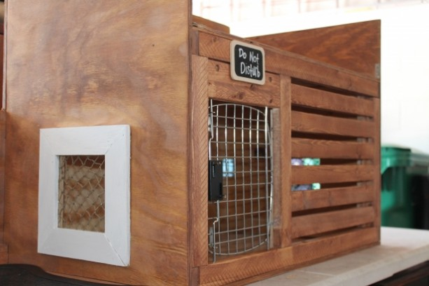 Custom Dog Crate And Bench Aftcra
