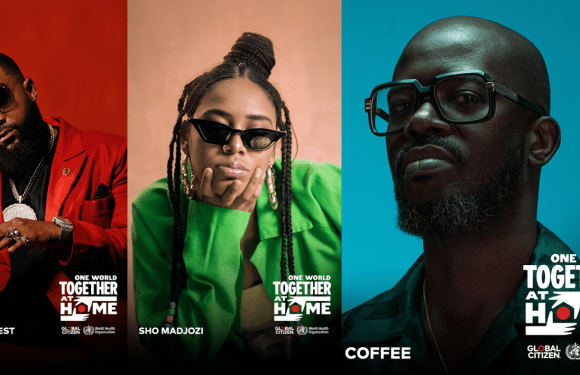 Black Coffee, Sho Madjozi, Casper Nyovest and Burna Boy to perform at 2020 Global Citizen broadcast special