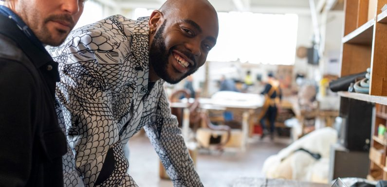 CNN's African Voices Changemakers meets Rich Mnisi
