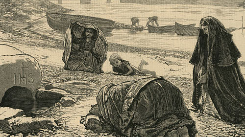 keening for the dead, an irish funeral tradition