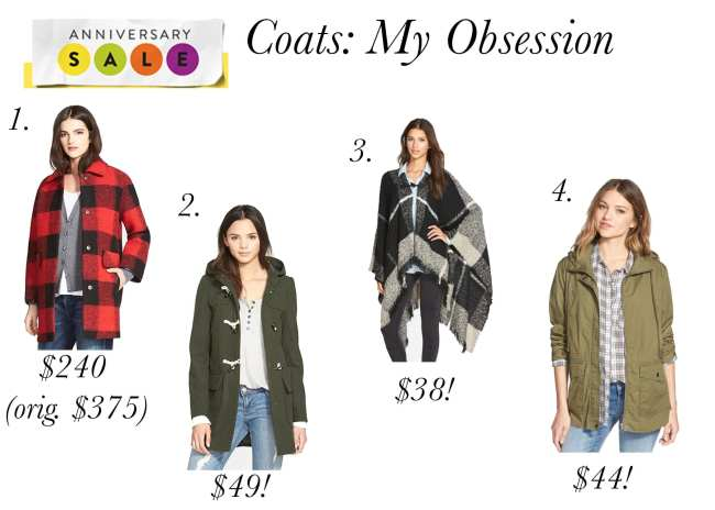 Coats, Nordstrom, Anniversary Sale, Fall Fashion