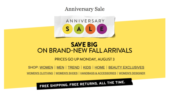 Nordstrom, Anniversary, Sale, Fall
