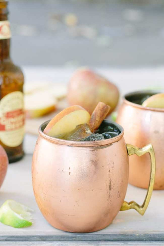 Apple-Cider-MoscowMule-Fall Cocktail