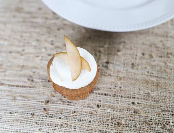 Maple Syrup - Cupcake - Recipe - Cupcake of the Month - Pear - Apple- Fall Flavors - Afternoon Espresso-2