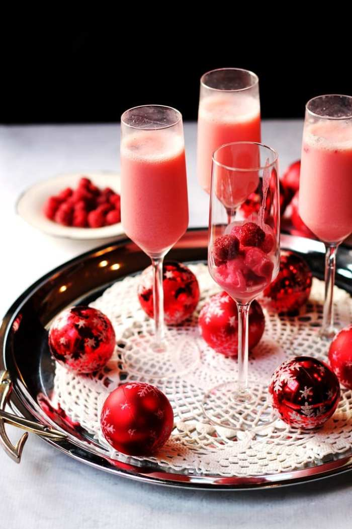 Raspberry Cream Mimosa-Holiday-Cocktails-Recipe