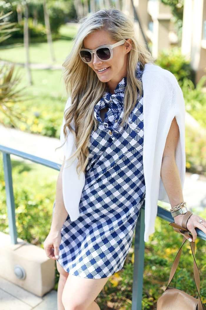 gingham dress-Maui-Vacation-Travel-Hawaii-Poshture-Boutique-Blogger-Chloe Bag-5
