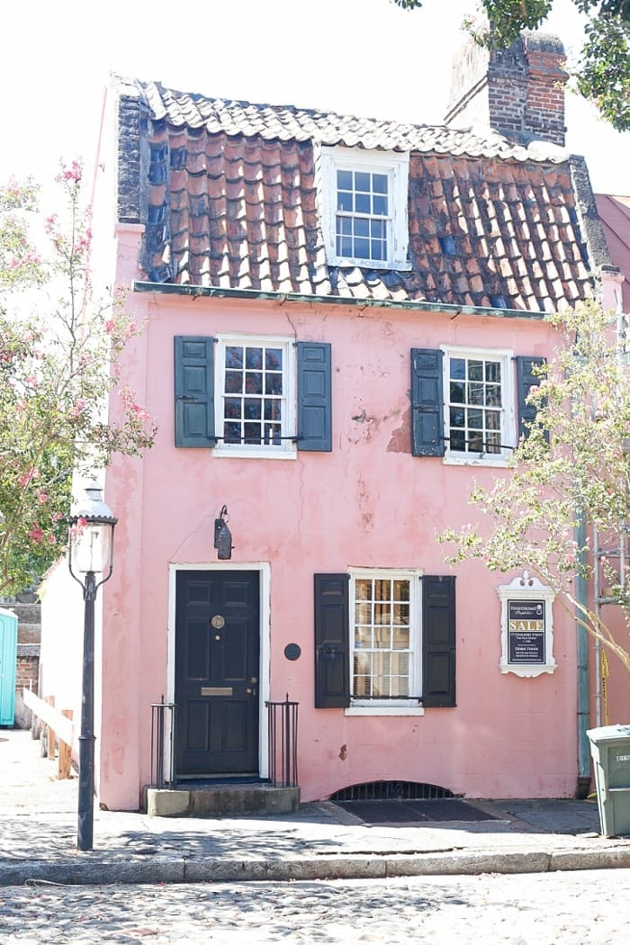 Endless pink home in Charleston, SC