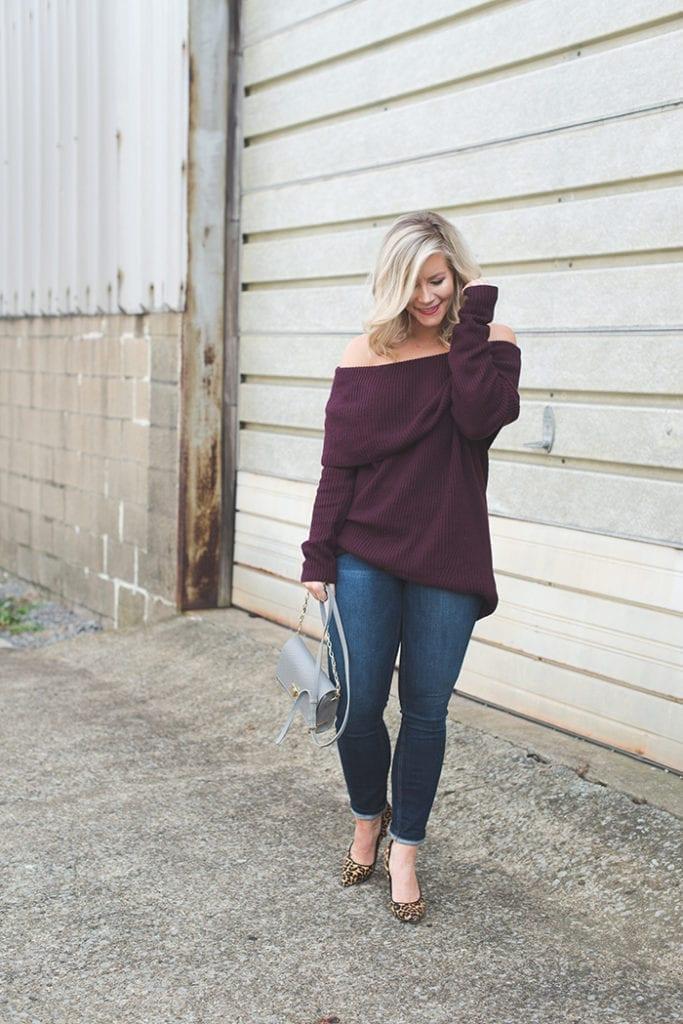 burgundy-off-the-shoulder-sweater-gigi-new-york-bag-x-afternoon-espresso-blog