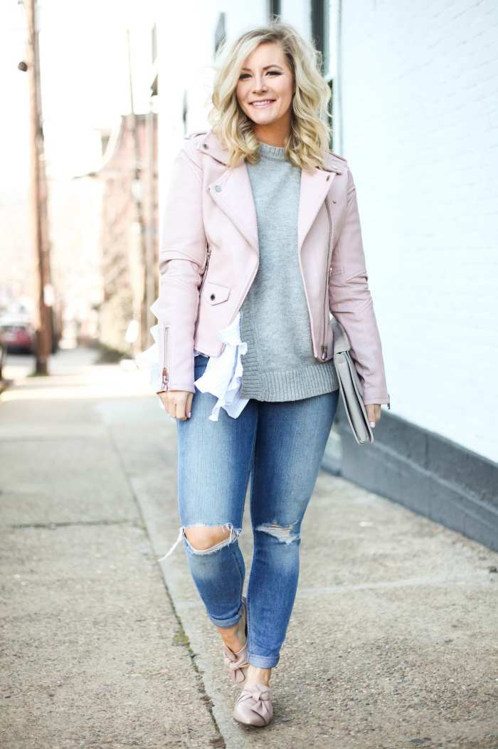 Shor hair style ideas - Blush pinks for spring transition