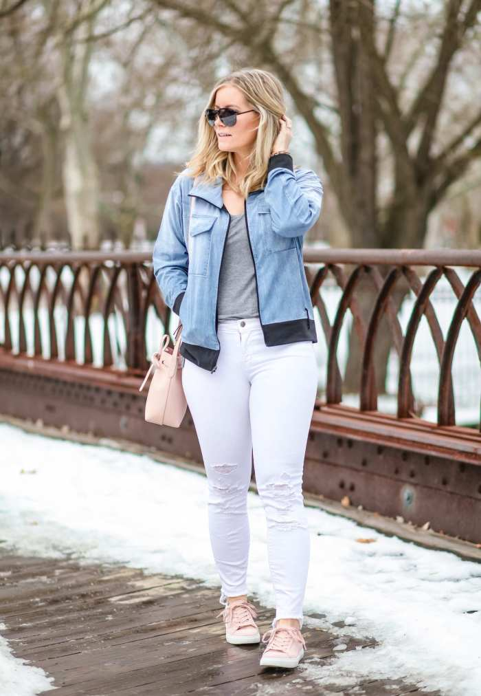 Spring Athleisure- Fashion- Ashley Pletcher- Blogger- Afternoon Espresso- Pittsburgh - Chelsea Collective - Lucy IndiGo- Spring Fashion