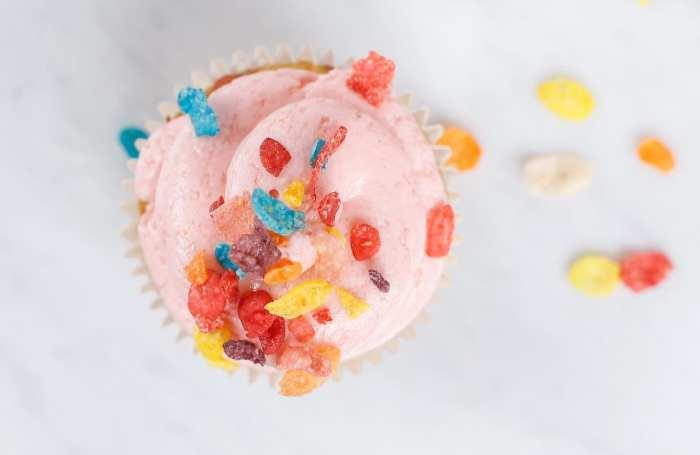 Fruity Pebble Cupcake Recipe - Afternoon Espresso- Blogger- Foodie