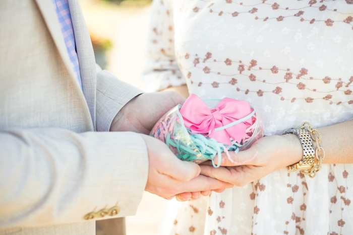 Gender Reveal- Baby Girl - Easter Outfit- Gender Reveal ideas