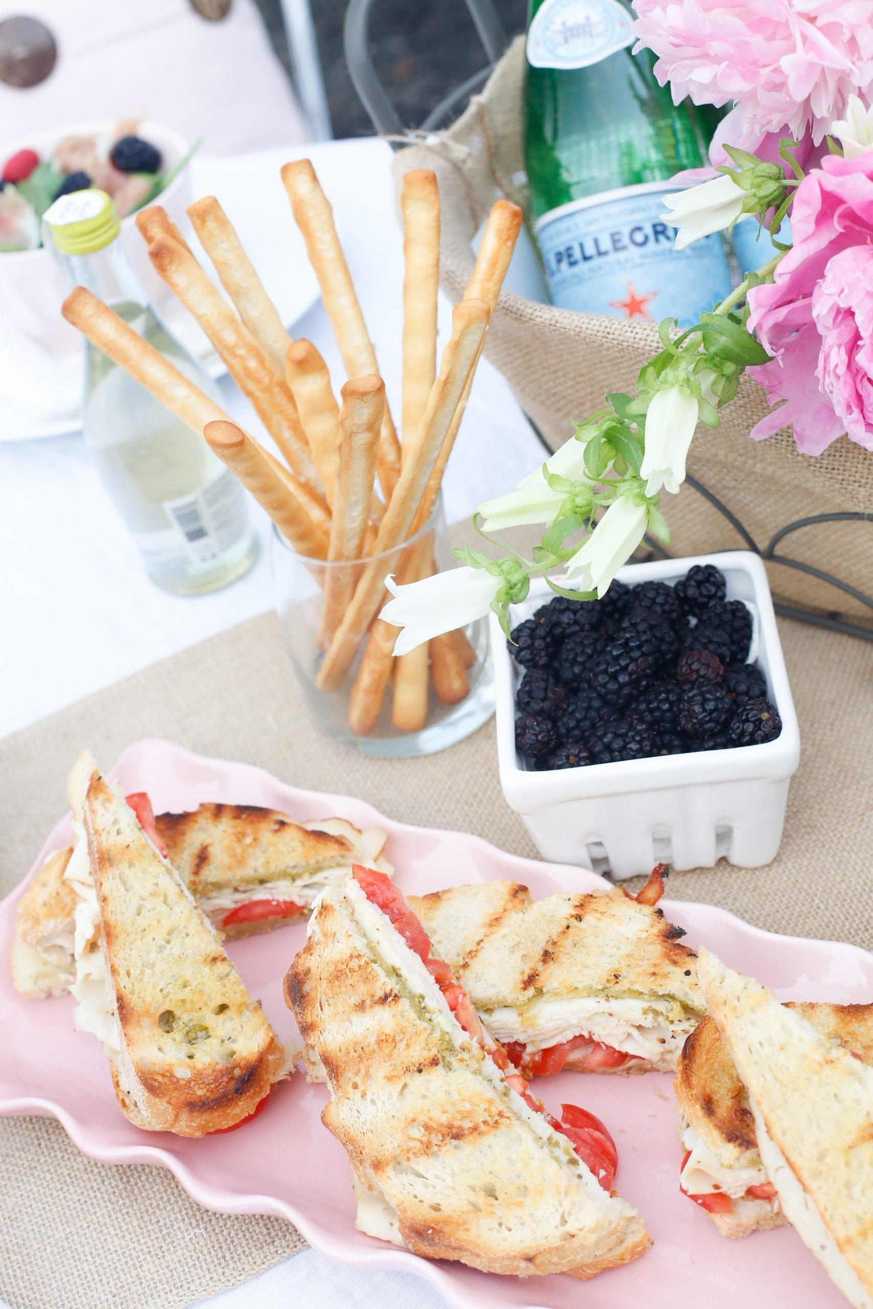 Choose the Table with Dietz & Watson Al Fresco Style + Pesto Chicken Panini Recipe
