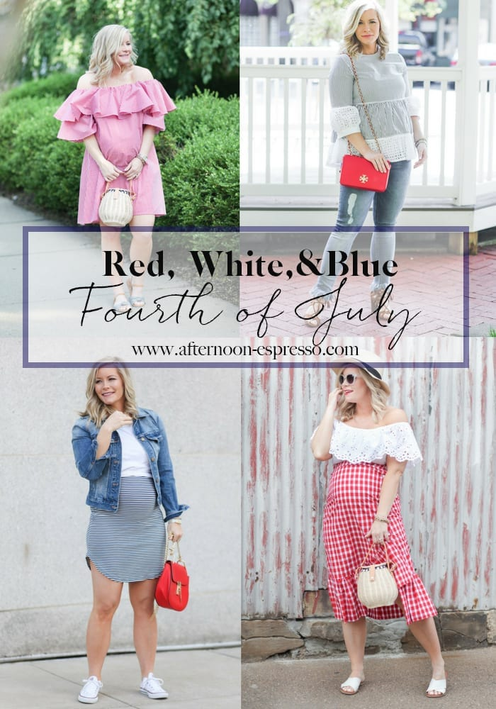 Show Your Red, White, and Blue: Four Looks for the Fourth of July