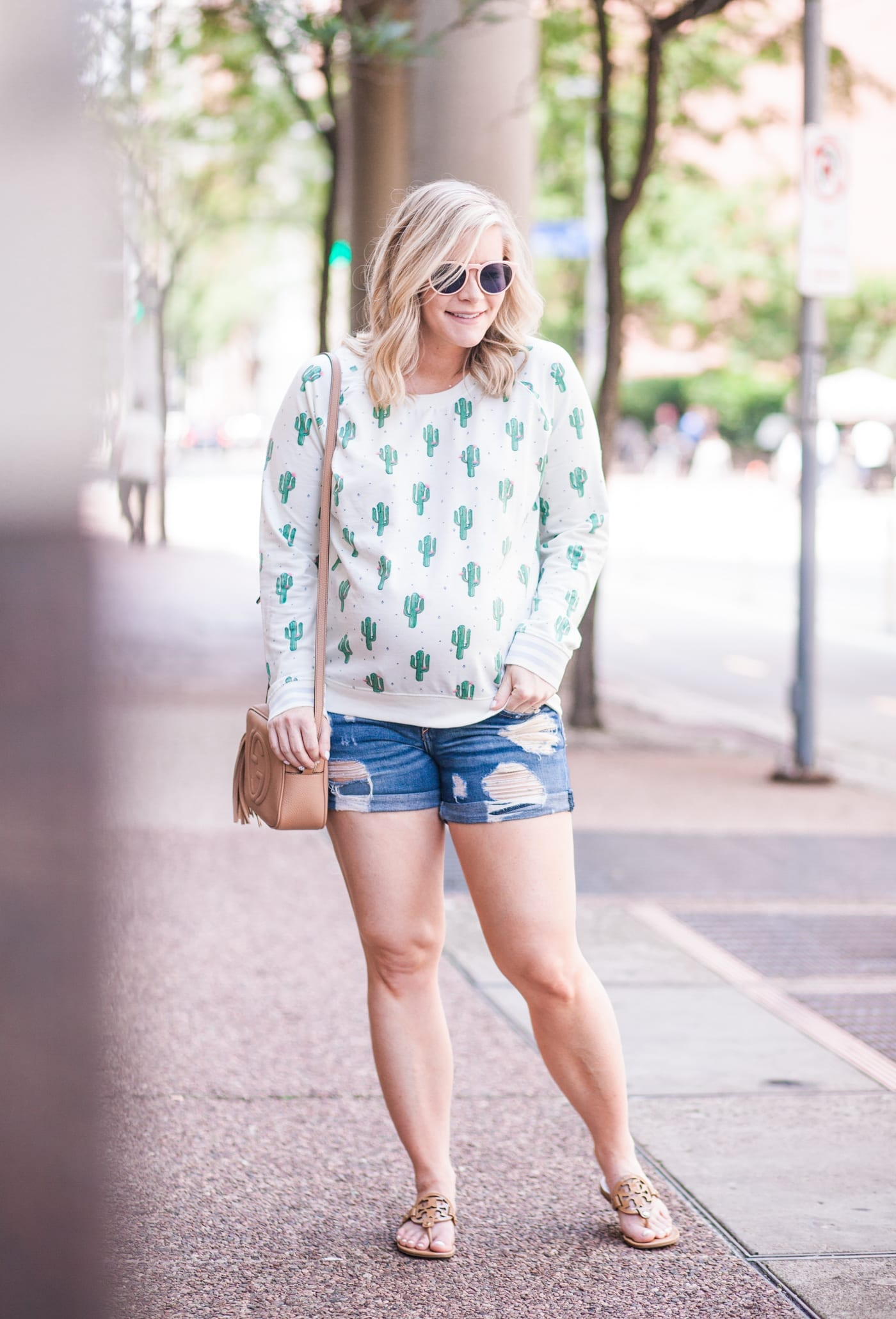 Going Crazy for Cactus Print