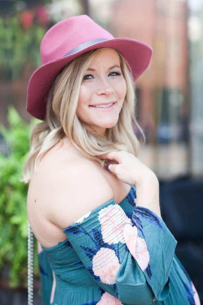Ashley Pletcher - Felt Hat - Floppy Hat- Fall Fashion- Fall Essentials