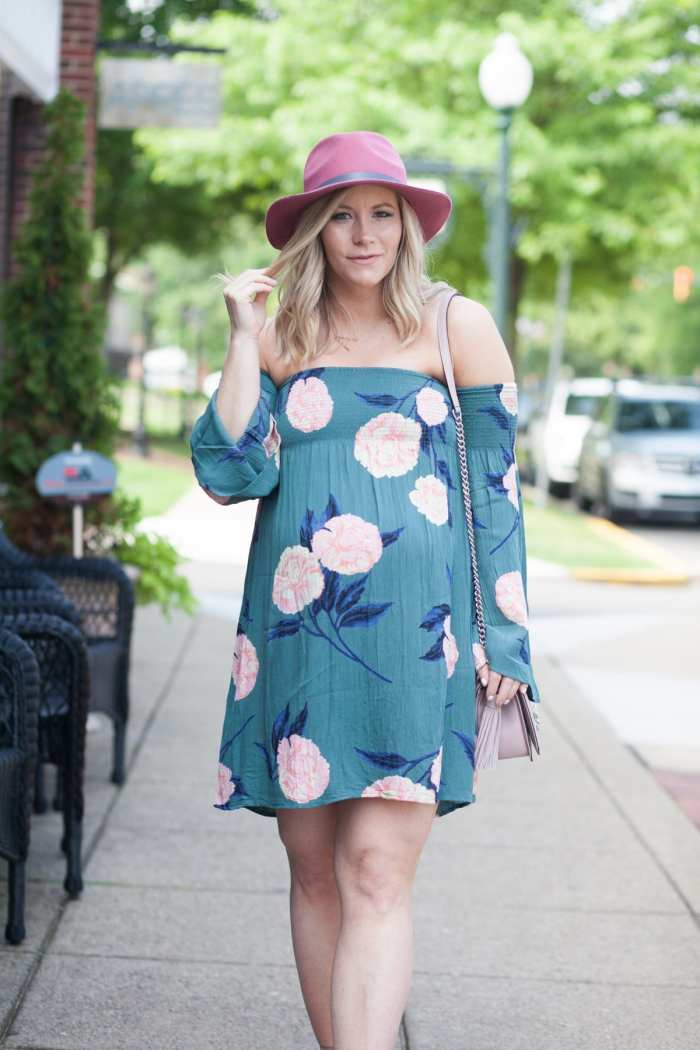 Ashley Pletcher - Pittsburgh Blogger - Summer to Fall - Billabong Dress