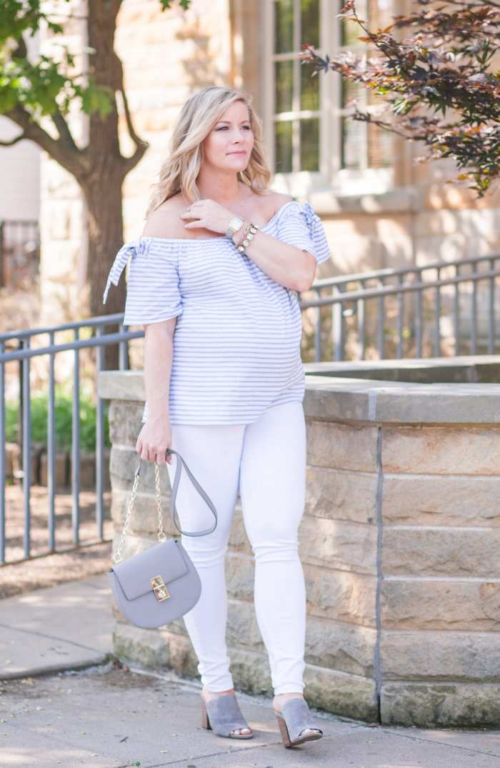 Nordstrom-Anniversary Sale-Blogger- Maternity Outfit - Ashley Pletcher