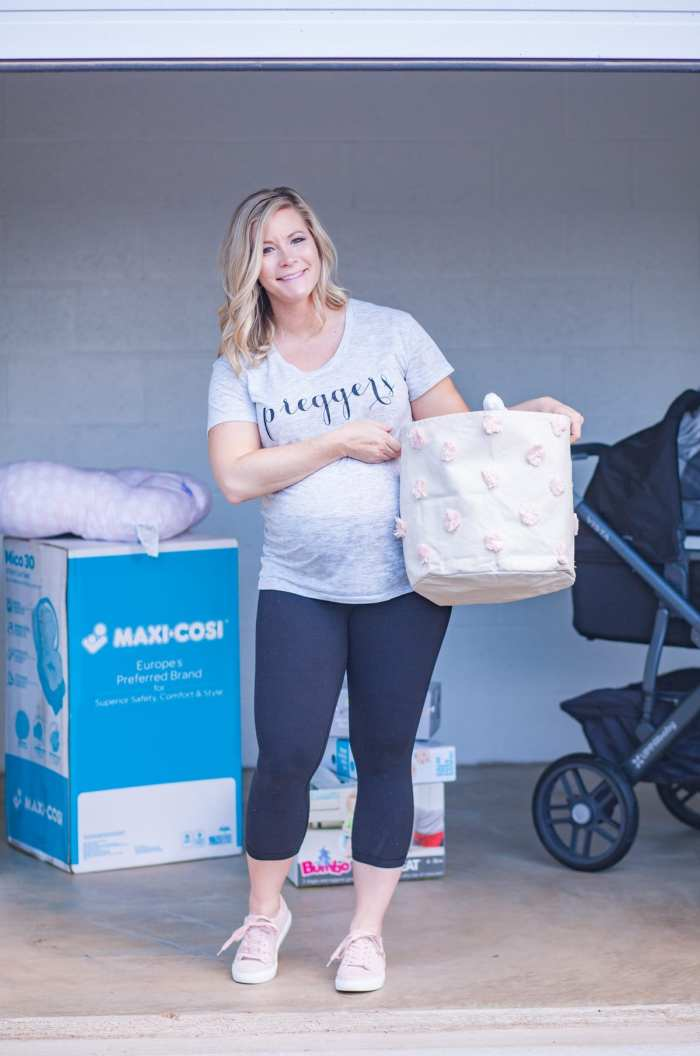 Guardian Storage - 5 stress free ways to prepare for your new baby's arrival- Cranberry- Blogger