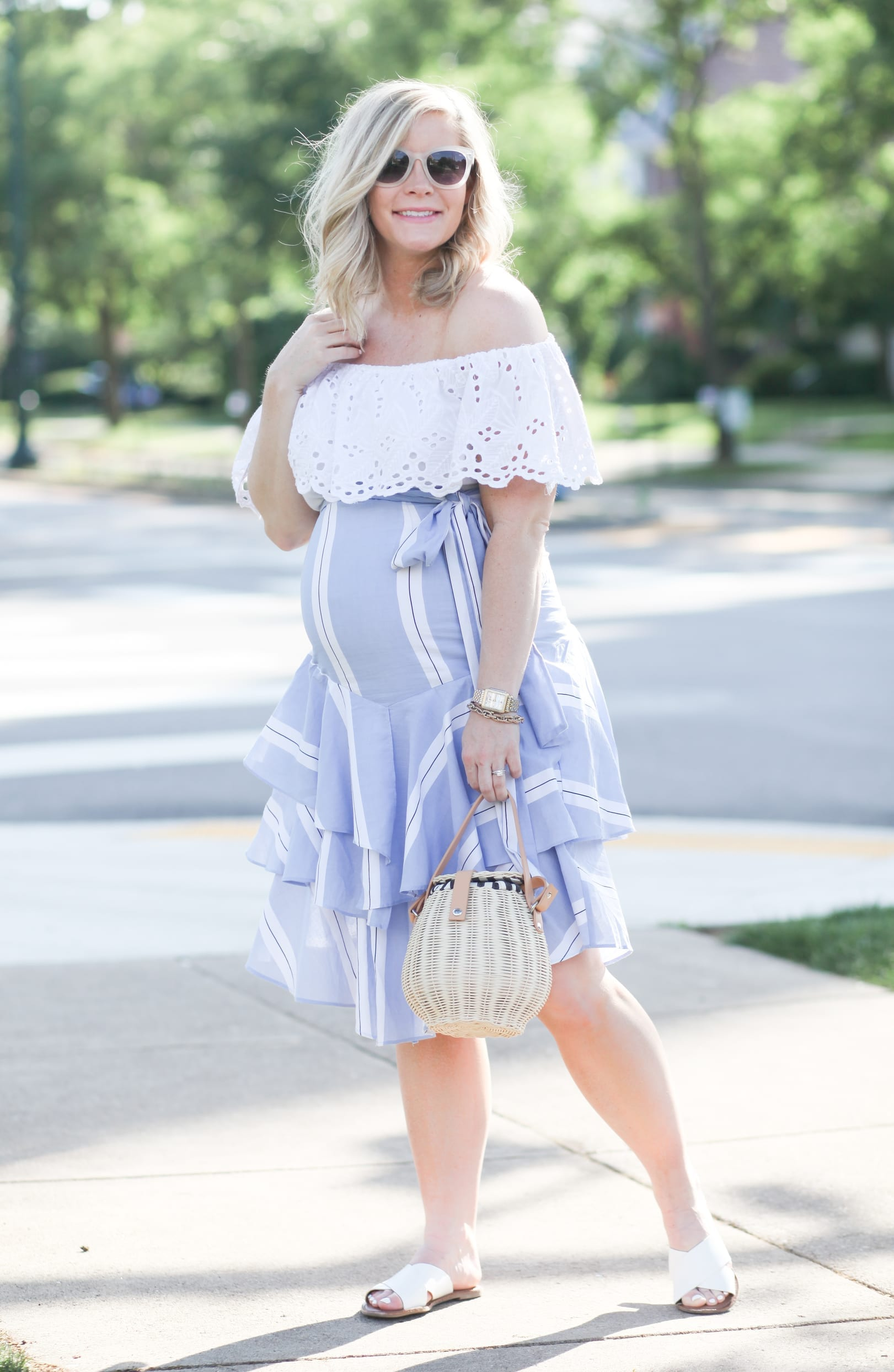 Saying Goodbye to Summer and Seasonal Ruffle Trends