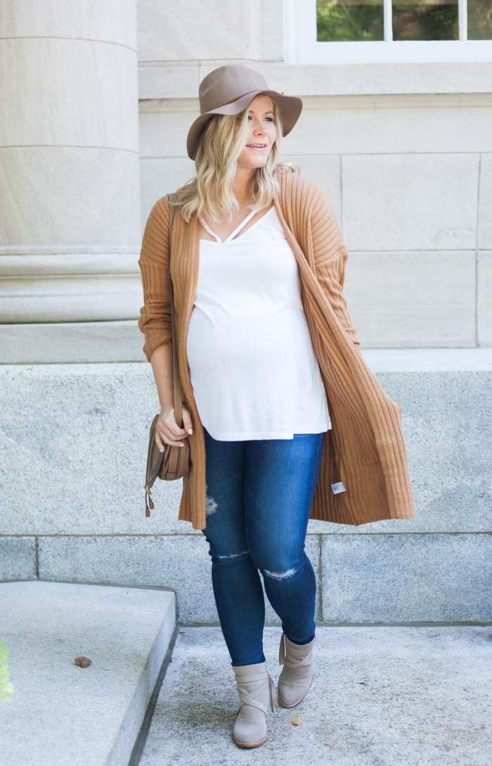 Fall Uniform- Sam Edelman bootie - BP Cardigan - Nordstrom - Nordstrom anniversary sale- AG Denim- AG Legging