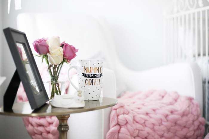 Nursery Decoration - Pearhead Mug - Florals