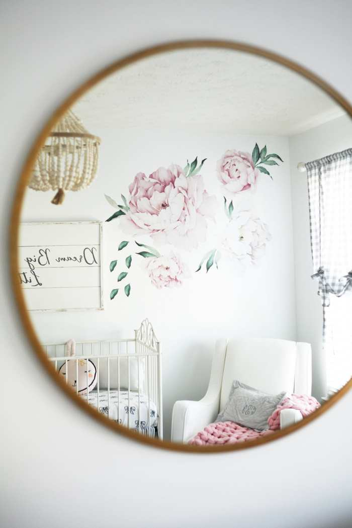 Etsy- Peony Wall Decals-Nursery Decoration