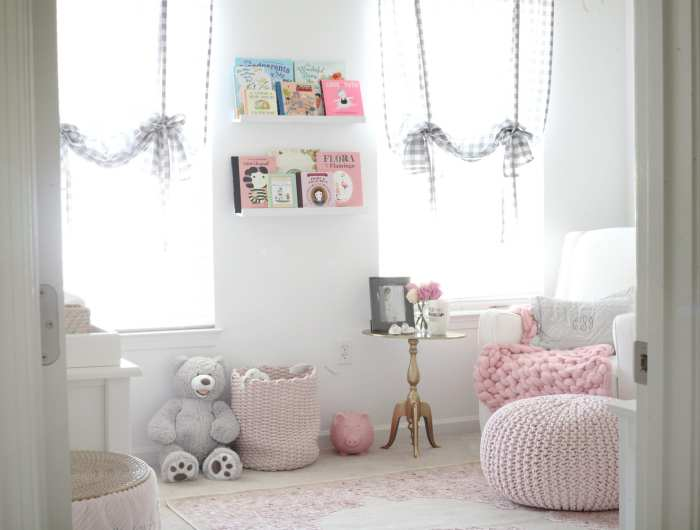 Nursery Decoration- Baby Girl Nursery