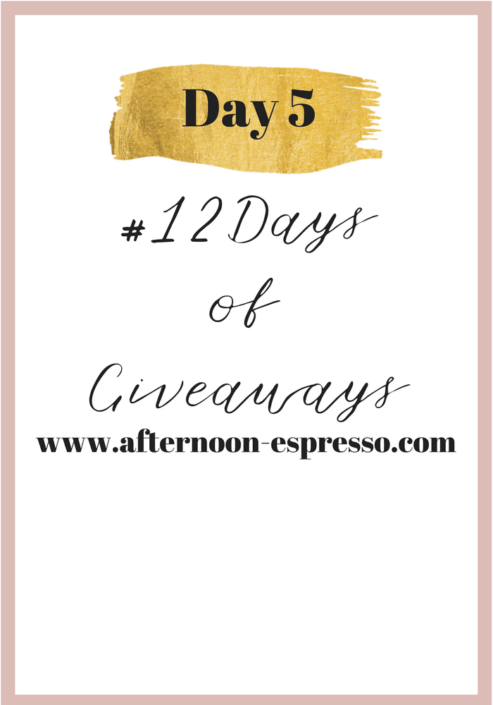 Day 5 of #12DaysofGiveaways with T3Micro Singlepass Luxe Straightener