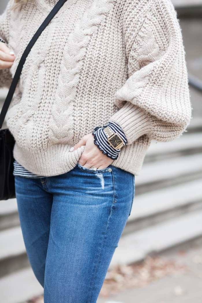 favorite sweater - H&M Sweater- Blogger- Fashion- Marc Jacobs Watch- Pittsburgh