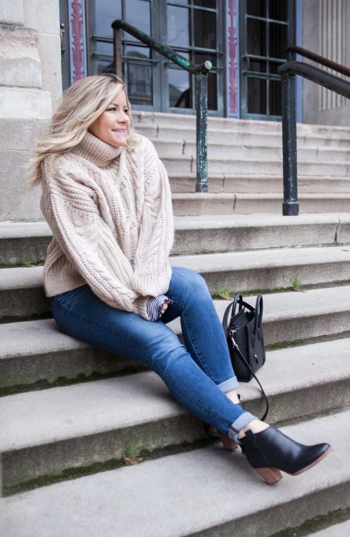 favorite sweater - H&M Sweater- Blogger- Fashion- Celine Bag- Pittsburgh
