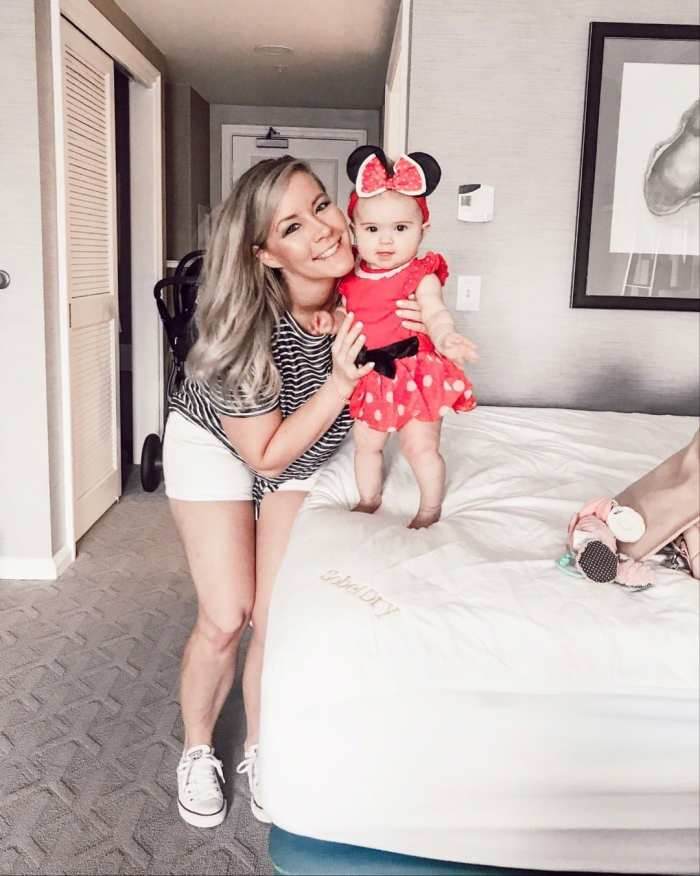 traveling to walt disney world with infant