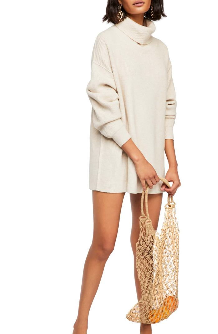Softly Structured Knit Tunic- Free People- Nordstrom Anniversary Sale - Fall Outfit