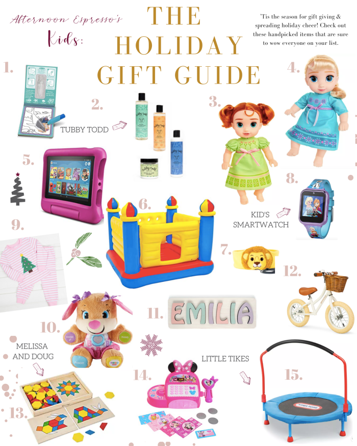 Afternoon Espresso- Holiday 2019 - Gifts for Kids