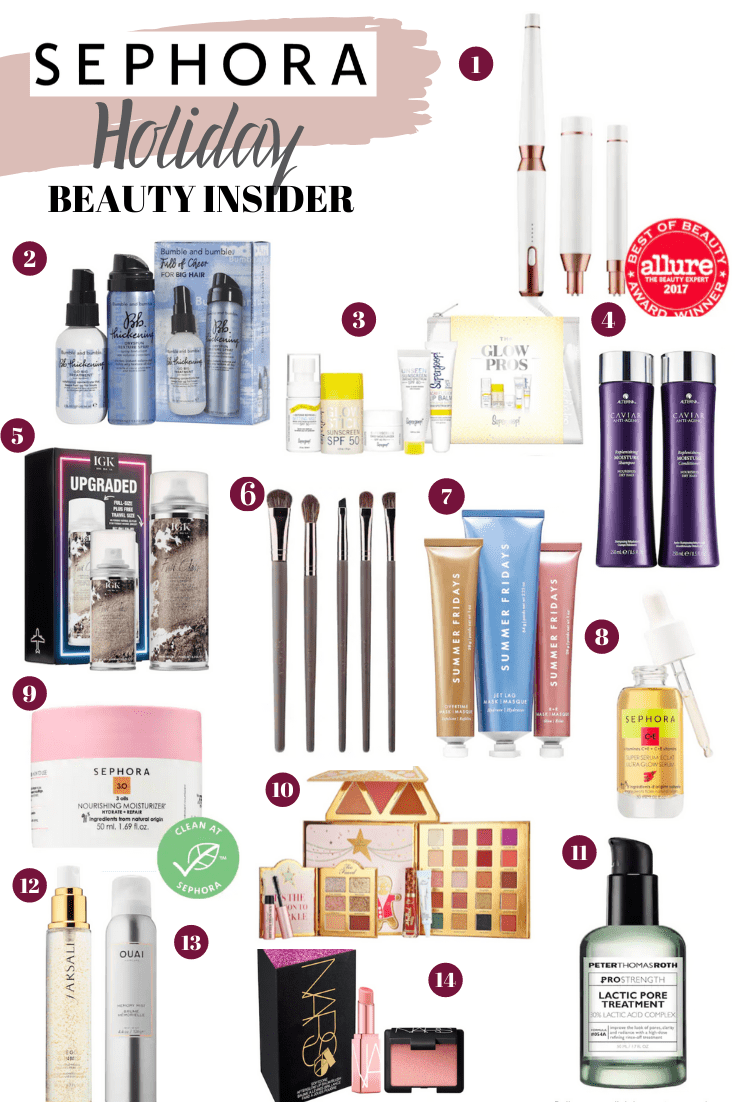 Holiday Sephora Beauty Insider Event + Giveaway!