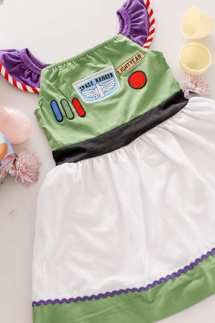 colorful easter basket ideas- Disney Dresses - Buzz Lightyear Dress- Jane.Com