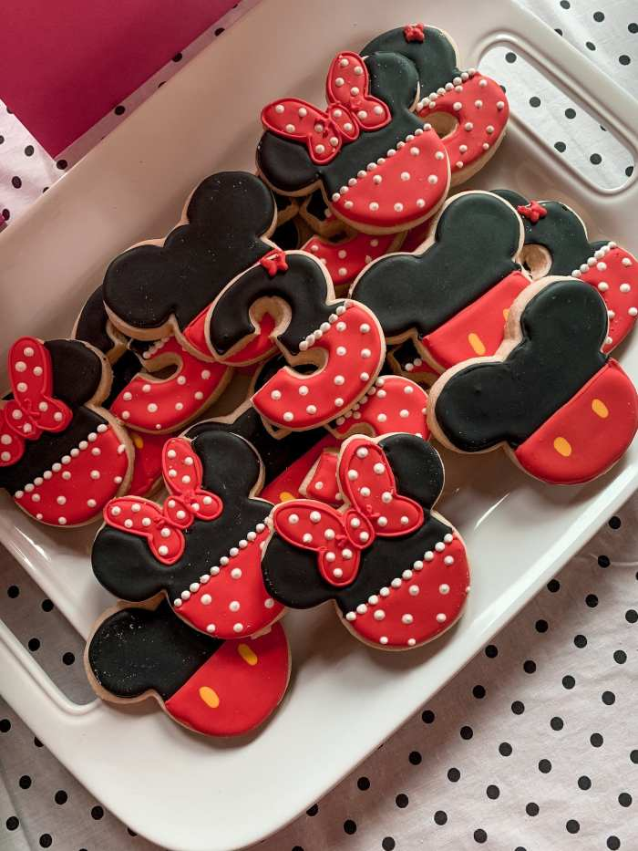Mickey Mouse Clubhouse Party - Birthday Party Idea- Kids Party- Val's Cupcakes and Cakes - Mickey Mouse Cookies