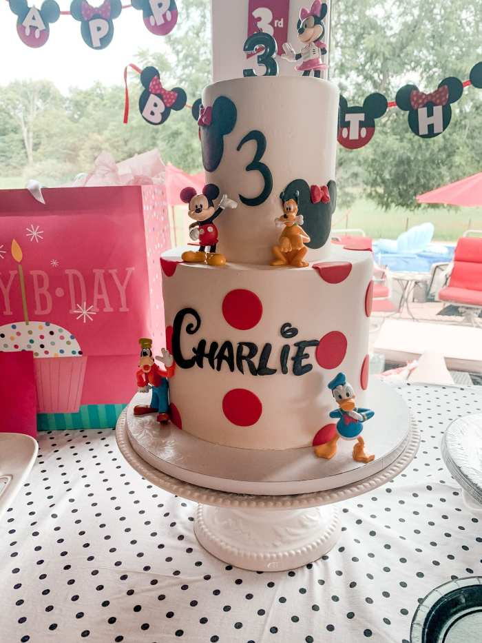 Mickey Mouse Clubhouse Party - Birthday Party Idea- Kids Party- Tasty Bakery- Pittsburgh Bakery- Mickey Mouse Birthday Cake