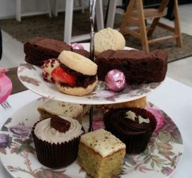 Afternoon Tea at Oliv, Rugby Warwickshire – Review: ★★★★☆