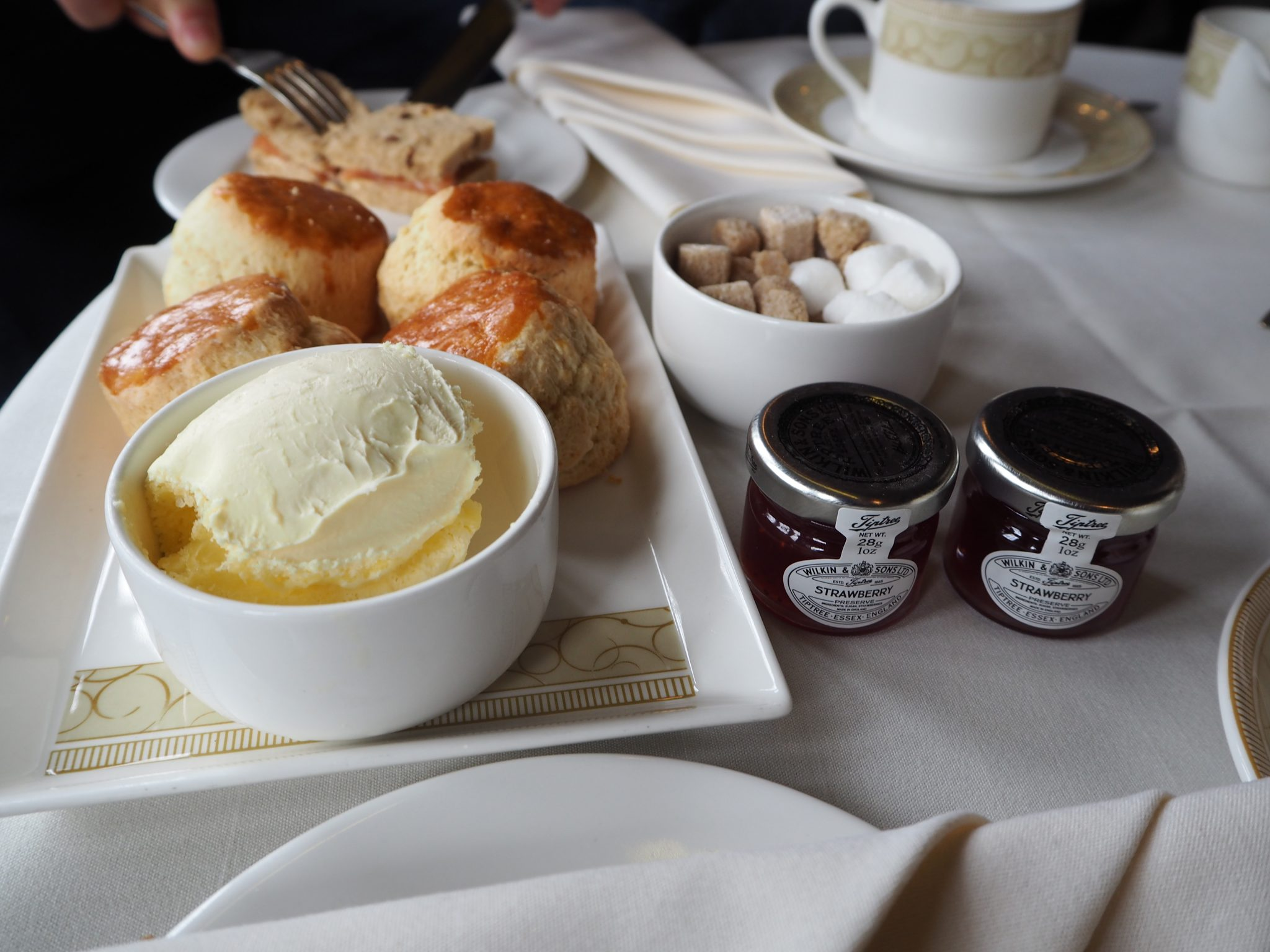 Mallory Court Afternoon Tea - Scones
